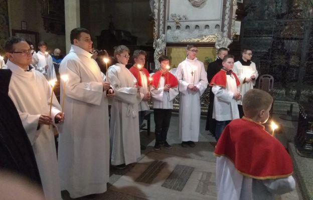 Modlitwa w katedrze świdnickiej