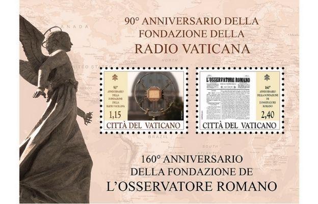 Znaczki Poczty Watykańskiej upamiętniają ważne rocznice