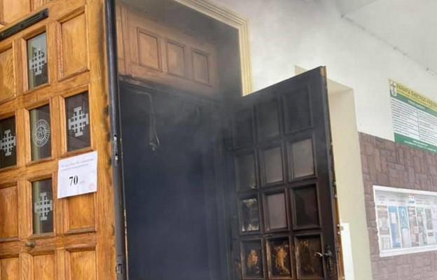 Lublin: 34-letnia kobieta zatrzymana w sprawie podpalenia kościoła