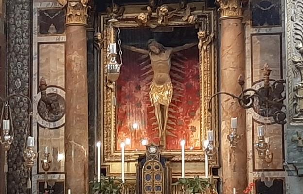 Krucyfiks z kościoła św. Marcelego w Rzymie