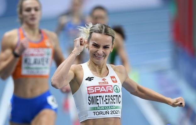 Lekkoatletyczne HME - Święty-Ersetic z rekordem Polski awansowała do finału na 400 m