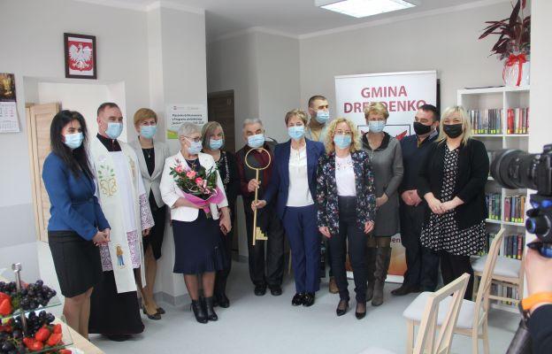 Uroczystość otwarcia i poświęcenia Klubu Senior+ w Trzebiczu