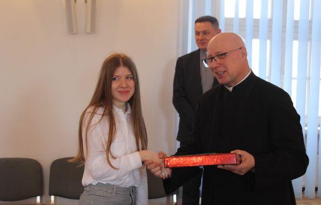 Karolina Fałat także w zeszłym roku została laureatką i finalistką Olimpiady Teologii Katolickiej