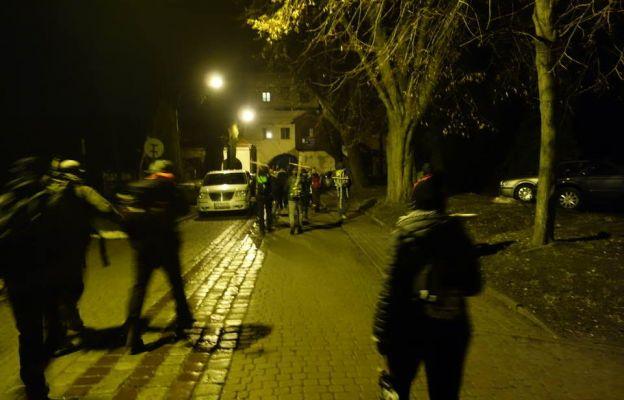 Pątnicy wyruszają z Opactwa w Jarosławiu