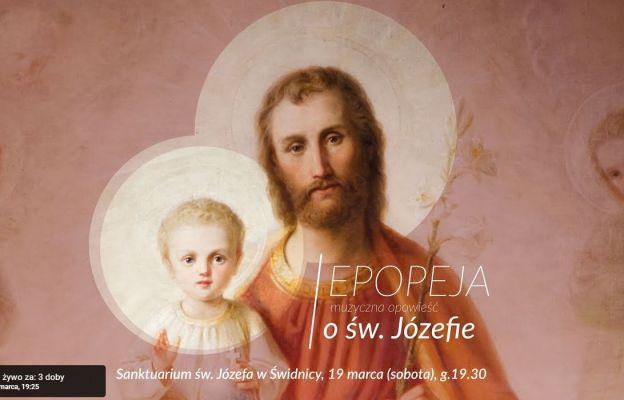 Zaproszenie - Muzyczna epopeja ku czci św. Józefa
