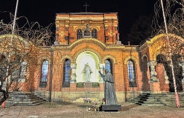Kościół św. Jerzego został pozyskany w roku 1919 dla potrzeb duszpasterstwa wojskowego