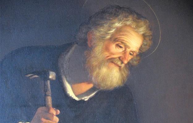 Obraz św. Józefa, patrona parafii