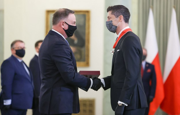 Prezydent o Robercie Lewandowskim: nasz bohater narodowy