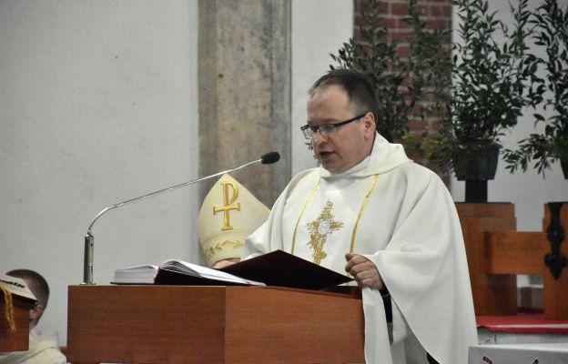 Homilię wygłosił ks. Mariusz Sobkowiak - Krajowy Duszpasterz Skautów Europy