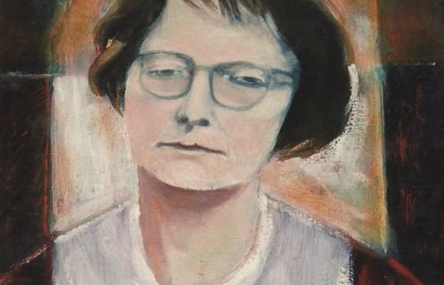 Portret sługi Bożej Anny Jenke. Obraz namalował prof. dr hab. Stanisław Białogłowicz – uczeń profesor Anny Jenke