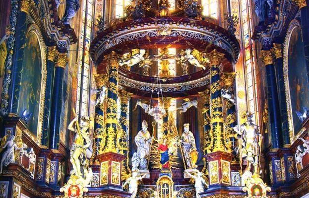 Ołtarz główny w katedrze świdnickiej