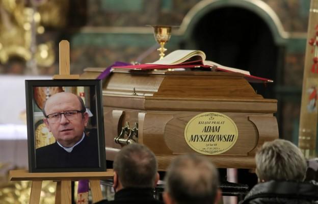 Kościół radomski żegna tragicznie zmarłego ks. Adama Myszkowskiego