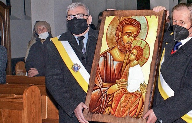 Wprowadzenie ikony św. Józefa