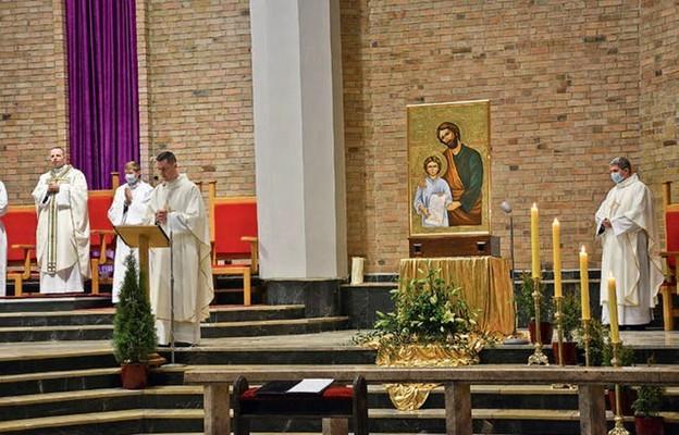 Ikona św. Józefa u św. Maksymiliana