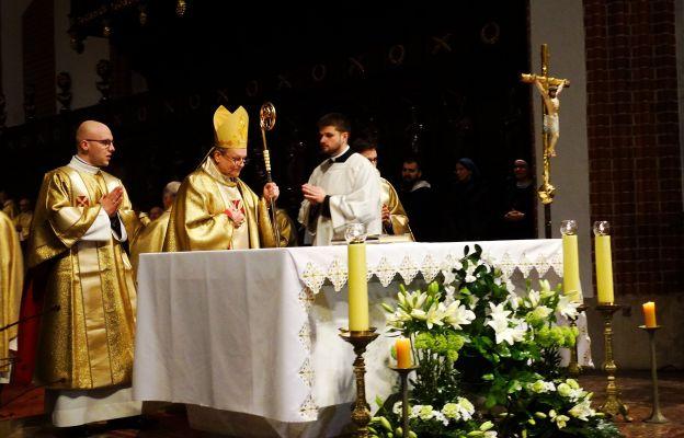 Liturgie w archikatedrze