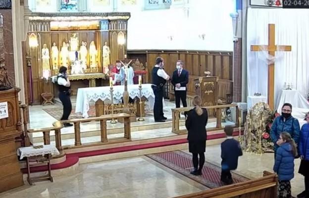 Londyńska policja wyraziła żal z powodu interwencji w polskim kościele