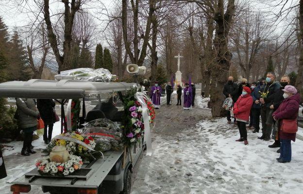 Kondukt żałobny z prochami zmarłego Jana Mroczkowskiego