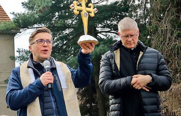 Błogosławieństwo relikwiami św. Jakuba