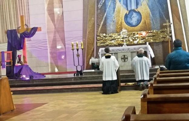 Spotkanie modlitewne w ramach powstałego w Łochowie ruchu Mężczyzn św. Józefa