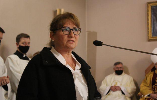 Przedstawicielka rady parafialnej