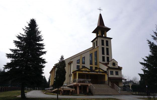 kościół parafialny w Skołoszowie