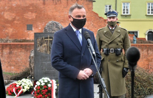 Prezydent: czcimy dzisiaj pamięć tych, którzy swojego oddania ojczyźnie nie wyrzekli się nigdy