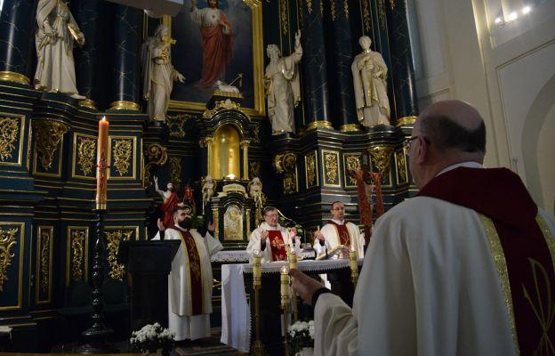 Wspólnej modlitwie przewodniczył ks. Marian Bocho