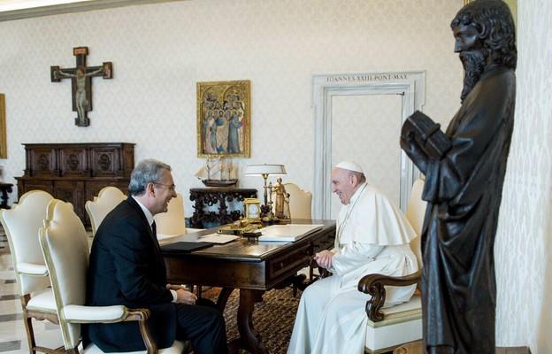 Papież przyjął przewodniczącego Wspólnoty Sant'Egidio