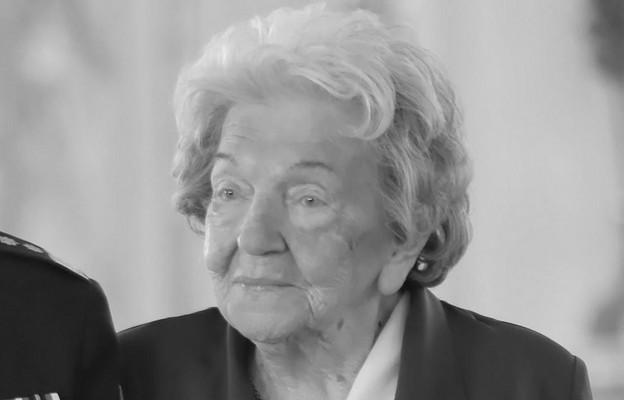 Maria Czernek miała 100 lat