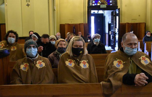 Przedstawiciele parafii i bractw Jakubowych