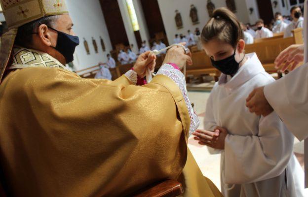 Błogosławieństwo nowych lektorów i ceremoniarzy