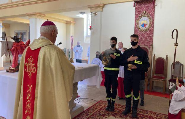 Msza w intencji strażaków z Dobromierza