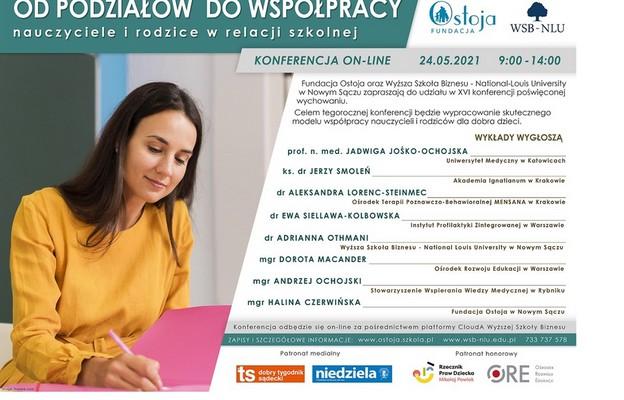 Od podziałów do współpracy - konferencja online
