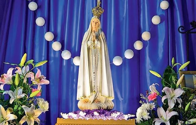 Figura Matki Bożej Fatimskiej, która gościła w każdej parafii naszej diecezji w latach 2014-17, znajduje się w sanktuarium ojców sercanów w Polanicy - Zdroju Sokołówce
