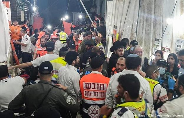 Izrael: Ponad 40 ofiar śmiertelnych podczas masowej paniki