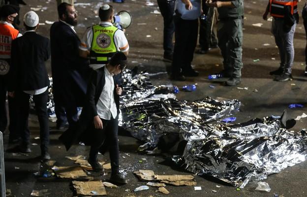 Izrael/ Media o tym, jak doszło do tragedii na górze Meron