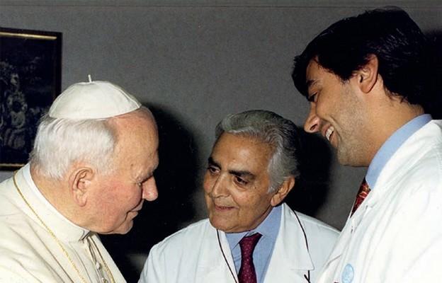 Uratował życie papieża