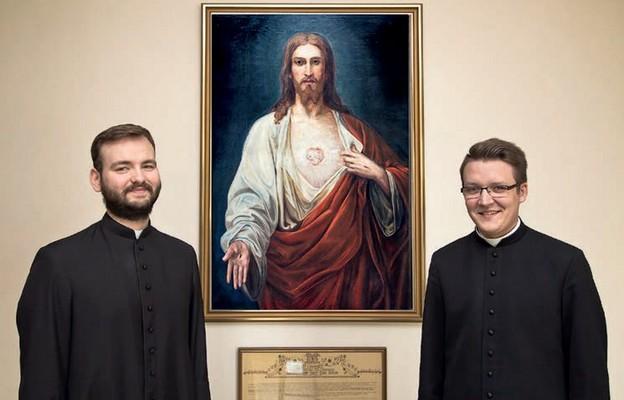 Przyszli diakoni: kl. Piotr Fedoryszak i kl. Mariusz Mroczkowski