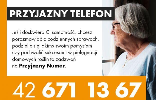 Łódź: Przyjazny telefon dla samotnych