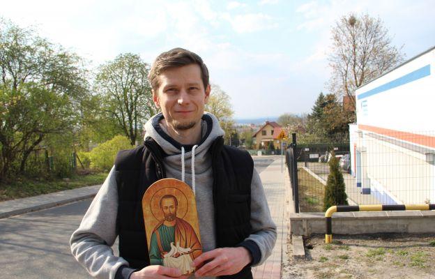 Ikona św. Józefa do dziś jest obecna w domu Tomasza