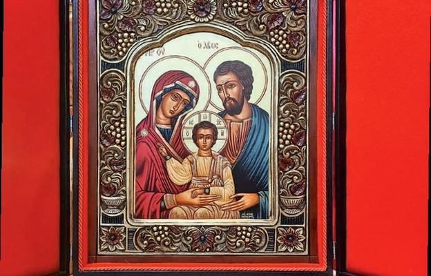 Święta Rodzina wśród parafian