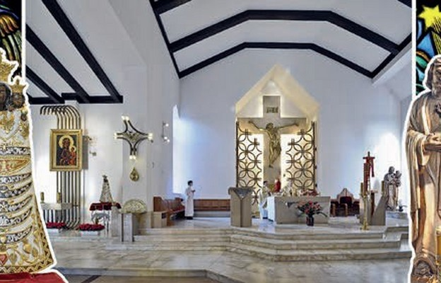 """""""Lotniczy"""" kościół"""
