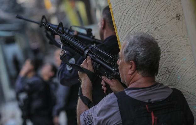 Brazylia: Co najmniej 25 osób zginęło podczas strzelaniny w Rio de Janeiro