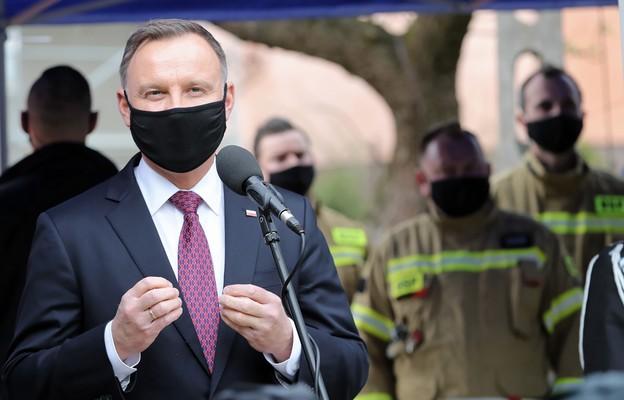Prezydent Duda: Strażacy ochotnicy są sercem polskiej straży pożarnej