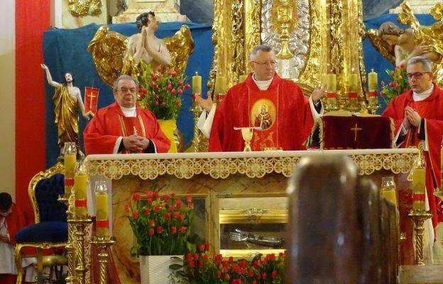 Uroczystości odpustowej przewodniczył ks. dr Tadeusz Stanisławski
