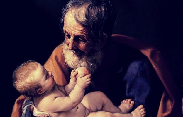 Józef i dzieciątko Jezus, obraz Guido Reniego