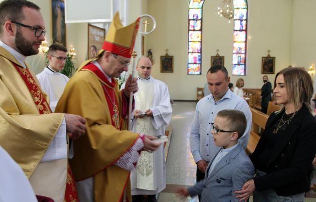 Mszy św. przewodniczył bp Krzysztof Chudzio