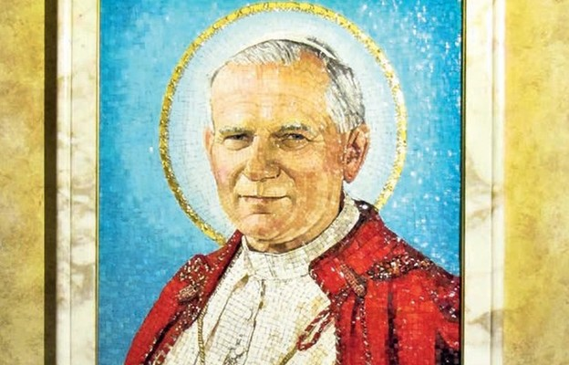 Jan Paweł II w Grotach Watykańskich