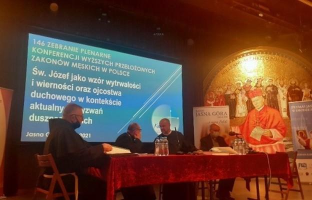 Jasna Góra: O doświadczeniach czasu pandemii i wyzwaniach na przyszłość podczas zebrania plenarnego Konferencji Wyższych Przełożonych Zakonów Męskich