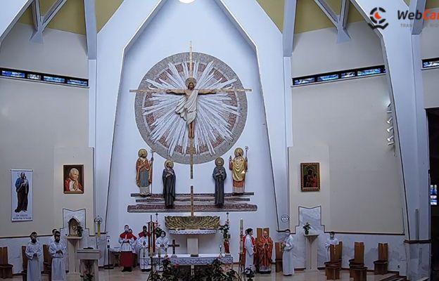 Modlitwę transmitowano również z kościoła św. Stanisława w Andrychowie.